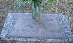 Marilyn Rose <i>Martin</i> Burton