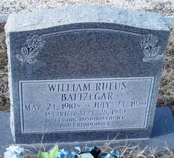 William Rufus Baltzegar