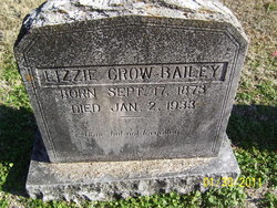 Lizzie <i>Crow</i> Bailey