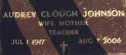 Audrey <i>Clough</i> Johnson