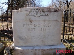 Bertha George <i>Palmer</i> Haley