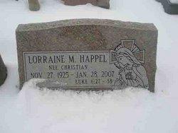 Lorraine M. <i>Christian</i> Happel