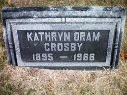 Kathryn <i>Oram</i> Crosby