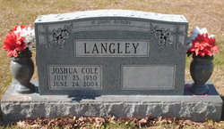 Joshua Cole Langley