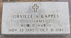 Orville A Kappes