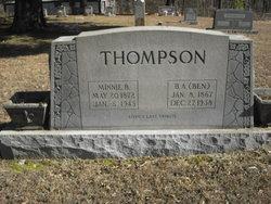 Minnie B Thompson