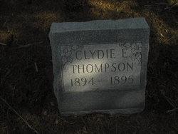 Clydie E Thompson