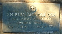 Shirley Monroe Cox