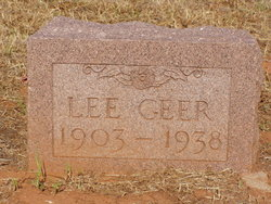 Robert Lee Geer