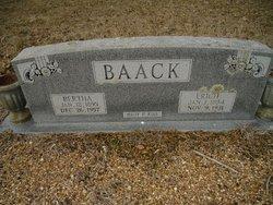 Bertha Baack