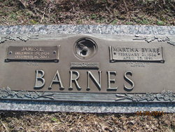 Martha <i>Byars</i> Barnes