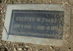 Chester William Evans