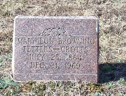 Mary Lou <i>Browning</i> Fetters/Crotts