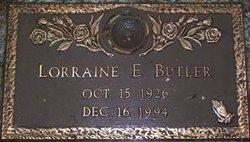 Lorraine Edith <i>Engle</i> Butler