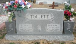 Retha F <i>Bain</i> Tollett