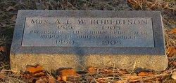 Ann Eliza <i>Worcester</i> Robertson