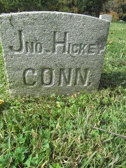 Pvt John Hickey