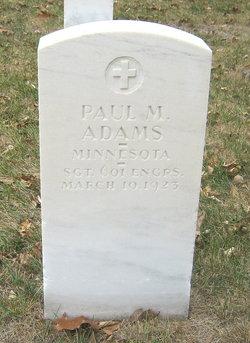 Paul M Adams