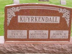 Mathilda Margaret <i>Mathews</i> Kuyrkendall