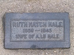 Ruth Amoretta <i>Hatch</i> Hale