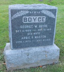 Abbie P. <i>Masten</i> Boyce