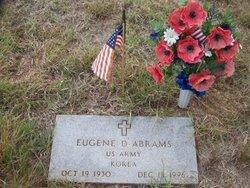 Eugene D Abrams