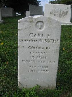Carl F Von Dem Bussche