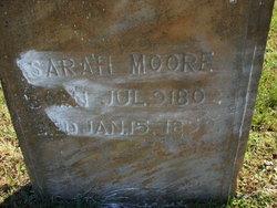 Sarah Sallie <i>Travis</i> Moore