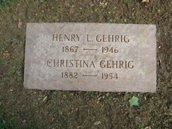 Christina <i>Facke (Flack)</i> Gehrig
