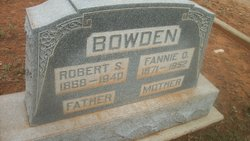 Fannie Orelia <i>Buford</i> Bowden