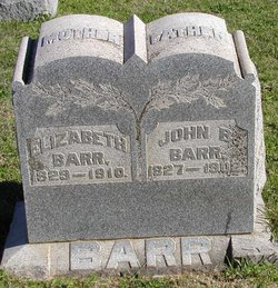 Elizabeth <i>Troutman</i> Barr
