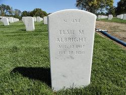 Elsie M <i>Ray</i> Albright