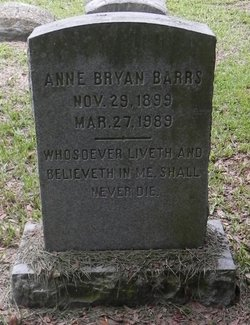 Mary Ann <i>Bryan</i> Barrs