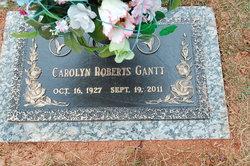 Carolyn <i>Roberts</i> Gantt