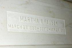 Martha Ida <i>Frahm</i> Fausek