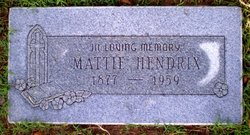 Mattie B <i>Gantt</i> Hendrix