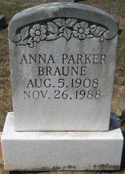 Anna <i>Parker</i> Braune