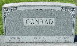 Lillie B Conrad