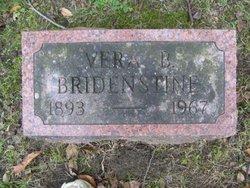 Vera <i>Burns</i> Bridenstine