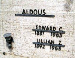Edward C Aldous