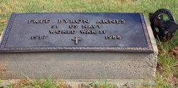 Fred Byron Arnes