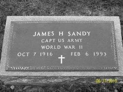 Capt James Henry Jim Sandy