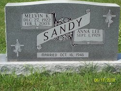 Sgt Melvin Kenneth Sandy