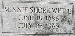 Minnie <i>Shore</i> White