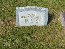 Ruby Lee <i>Sikes</i> Adamson