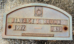 Beatrice T. Brown