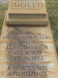 Lotta Louise <i>Rogers</i> Baldwin