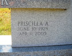 Priscilla A <i>Weddle</i> Black