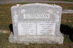 Sarah P. <i>Yanofsky</i> Robinson