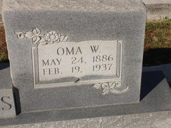 Oma Russell <i>White</i> Adams